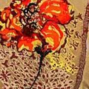 Poppy 50 Art Print