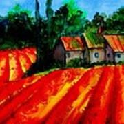 Poppy Field  Sold Art Print