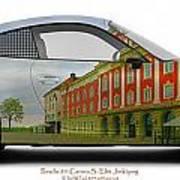 Porsche 911 Elite Hotel Joenkoeping Art Print