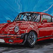 Porsche 911  Art Print