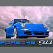 Porsche 911 No 1 Art Print