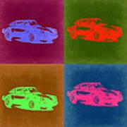 Porsche 911 Pop Art 3 Art Print