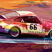 Porsche 911 Racing Art Print
