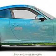 Porsche 911 Skaane Skies Art Print