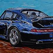 Porsche 911 Turbo  Art Print