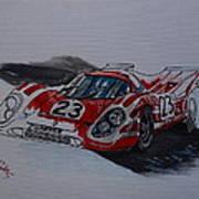 Porsche 917  Art Print