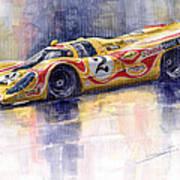Porsche 917 K Martini Kyalami 1970 Art Print