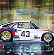 Porsche 935 Coupe Moby Dick Art Print by Yuriy  Shevchuk