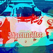 Porsche 956 Jagermeister Print by Naxart Studio