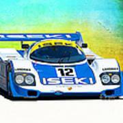 Porsche 956c - 118 Art Print