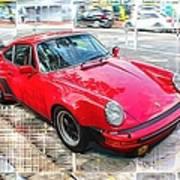 Porsche Series 02 Art Print