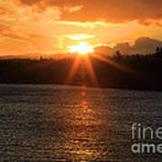 Port Angeles Sunrise Art Print