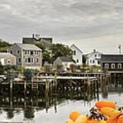 Port Clyde On The Coast Of Maine Art Print