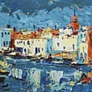 Port De Bizerte Art Print
