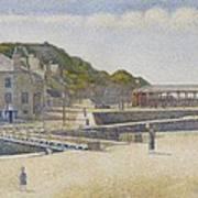 Port En Bessin Art Print