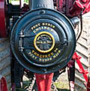 Port Huron Tractor Art Print