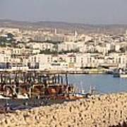 Port Of Agadir Morocco Art Print
