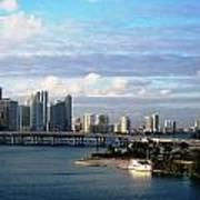 Port Of Miami 3 Art Print