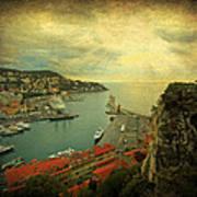 Port Of Nice Art Print