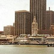 Port of San Francisco Painting Art Print