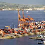 Port Of Vancouver Panorama Art Print