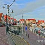 Port Of Volendam Art Print
