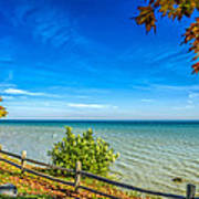 Port Sanilac Scenic Turnout Art Print