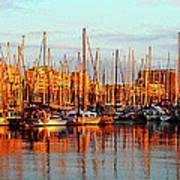 Port Vell - Barcelona Art Print
