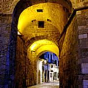 Porta Alfonsina Art Print