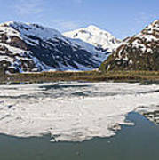 Portage Lake Panorama Art Print