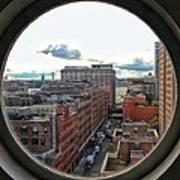 Portal To The City  Art Print