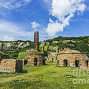Porth Wen Brickworks V2 Art Print