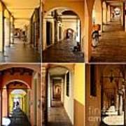 Porticos Of Padua No 2 Art Print