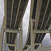 Portland Bridges 001 Art Print