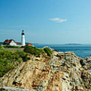 Portland Head Light Art Print