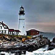 Portland Head Lighthouse 1 Art Print