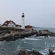 Portland Head Lighthouse 8557 Art Print