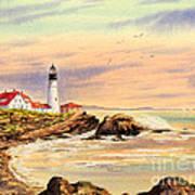 Portland Head Lighthouse Maine Art Print