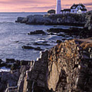 Portland Headlight Maine Art Print