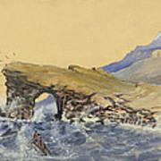 Portland Point Natural Bridge Circa 1862 Art Print by Aged Pixel