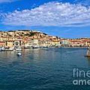 Portoferraio - View From The Sea Art Print