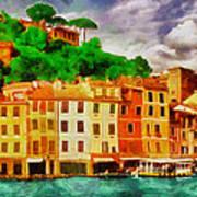 Portofino I Art Print by George Rossidis
