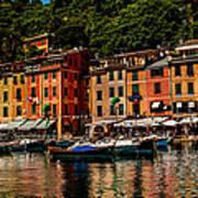 Portofino Italy Art Print by Xavier Cardell