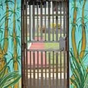Porton Cerrado Art Print