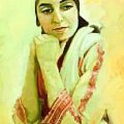 Portrait - Daydream   Art Print