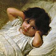 Portrait De Marie-louise  Art Print