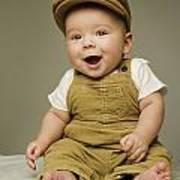 Portrait Of A Baby Boy Art Print