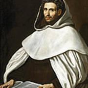 Portrait Of A Carmelite Art Print