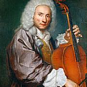 Portrait Of A Cellist Art Print