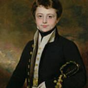 Portrait Of A Midshipman Art Print